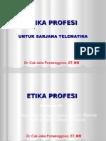 etika profesi telekomunikasi