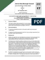 Public Health Savings Paper