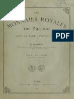 Les monnaies royales de France sous la race carolingienne. Pt. 2. Fasc 2 / par E. Gariel