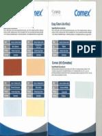 Catalogo De Colores Y Materiales Escuela Digna 2
