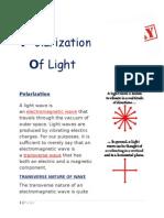 Polarization of Lighttr