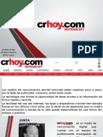 Nuevas tecnologías / CrHoy.com