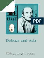 Deleuze and Asia 2014