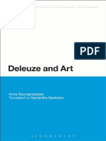 Anne Sauvagnargues -Deleuze and Art - 2013