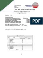 CEGB231 EXP 7 Compaction Test