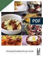 1Banting Breakfast Recipe Guide