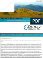 Dunav Resources