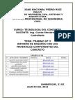 INFORME DE LA CONSTRUCCIÓN DE SILOS DE CONCRETO