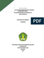 Asuhan Gizi Pada Pasien Diabetes Melitus Tipe II Dengan Hipertensi Stage i (Nandung Eko Pambudi - 1203000046)