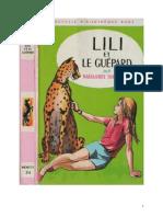Lili 10 Lili Et Le Guépard Maguerite Thiébold 1969