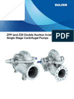 ZPP Z22 Double Suction Axiall y Split Pumps E00502(1)
