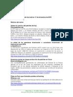 Boletín de Noticias KLR 11DIC2015