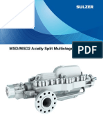 MSD_Axially Split Multistage Pump