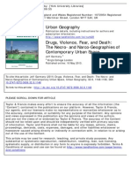 Urban Geography Volume 32 Issue 8 2011 [Doi 10.2747%2F0272-3638.32.8.1148] Garmany, Jeff -- Drugs, Violence, Fear, And Death- The Necro- And Narco-Geographies of Contemporary Urban Space