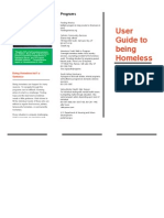 guide to being homeless revised