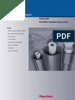 Guía de Selección de Terminales Termocontraibles Raychem 42kV