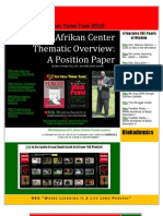 29200313 RBG Afrikan Center Thematic Overview an Interactive Position Paper