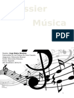 Dossier de música