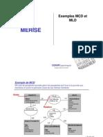 Exemples Mcd-mld Merise