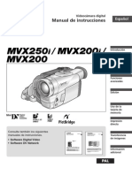 Manual Video Camara Canon MVX200i
