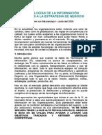 Tema - TI en La Estrategia dee Negocio-6!11!2000