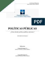 Como Diseñar Políticas Públicas