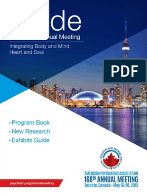 2015_AMG_Final pdf | Toronto | American Psychiatric Association