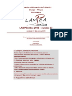 LAMPEA-Doc 2015 – numéro 37 / vendredi 11 décembre 2015