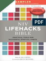 NIV Lifehacks Bible Sampler