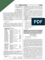 Dictan Disposiciones Reglamentarias Para El Otorgamiento Del Aguinaldo Por Navidad. Mediante Decreto Supremo Nº 344 -2015-EF