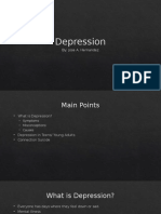 depression presentation