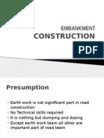 Embankment Construction
