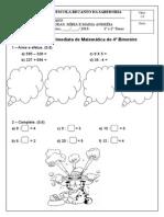 3AVI  de matemática do 4 BIM.doc