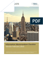 CIM - 08 - CIM Components Checklist (2015)