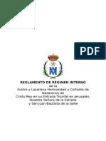 Reglamento de Régimen Interno
