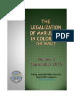 2015 Final Legalization of Marijuana in Colorado the Impact