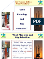 Curso on Line Well Planning and Rig Selection - 24 Hrs