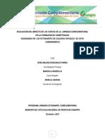 Jornada Complementaria Cota . Cundinamarca 2015