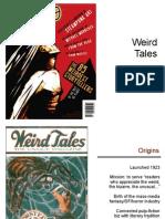 Weird Tales Presentation