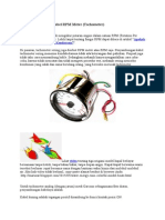 Cara Menyambung Kabel RPM Meter