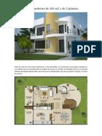 Plano de casa moderna de 161 m2 y de 2 plantas.pdf