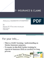 Chapter 7- Insurance