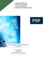 Registro Fotográfico y Clasificación de las Antenas de la Ciudad