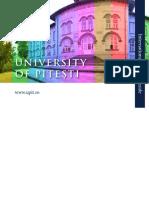 University of Pitesti- International student's guide