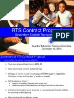 RTS RCSD transportation presentation 2015