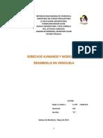 Trabajo Derechos Humanos Modo de Produccion Pedro Rojas Viii Sem Est Jur