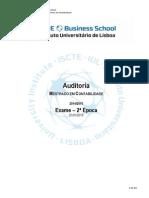 Auditoria_exame 2ª Época