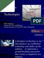 Pennsylvania DGS 15 Presentation - Disruptive Personal Technologies Elliot Schlanger