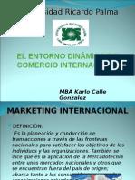 Entorno Dinamico Internacional del Comercio Exterior