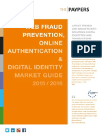 web fraud prevention digital identity market guide 2015 2016